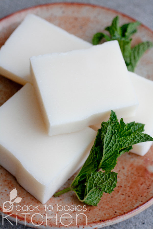 Invigorating Hand Crafted (by us!) Soaps