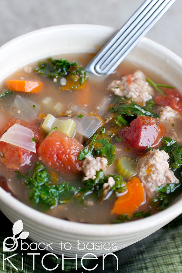 Paleo, Gluten Free, GAPS, Minestrone available for pickup site delivery in Boulder, CO.
