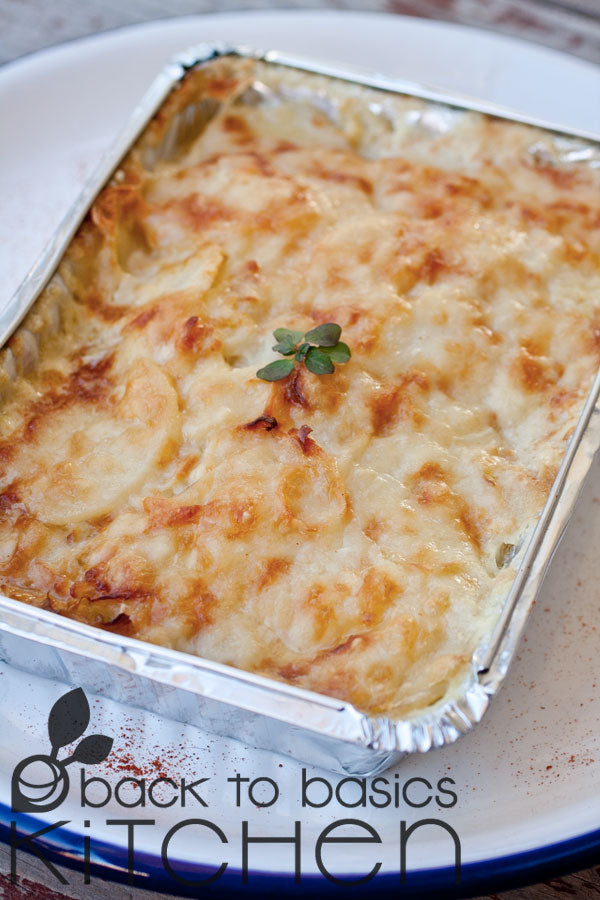 Thanksgiving Classic Potato Leek Gratin