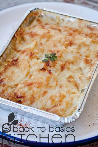 Simple Potato & Cheese Bake