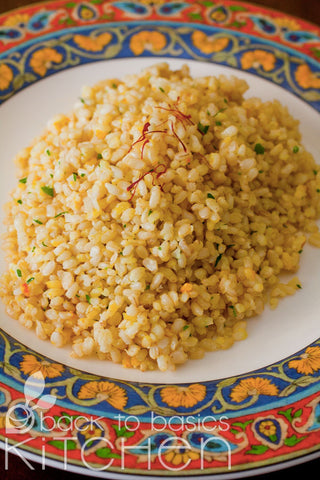 Golden Garlic Rice