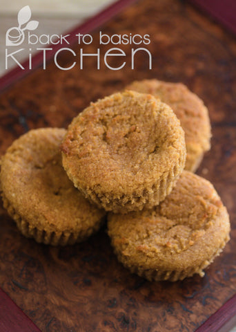 Sweet Potato + Maple Muffins (Paleo)