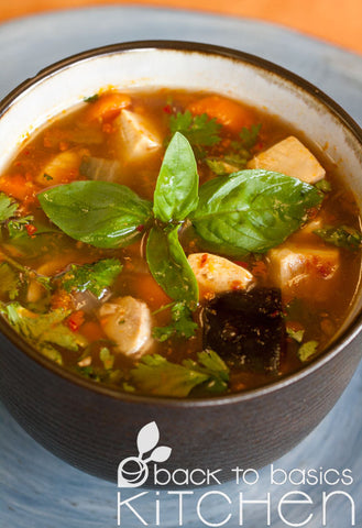 Thai Pork Soup with Lemongrass and Chile