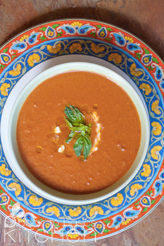 Frozen Cream of Tomato & Basil Soup