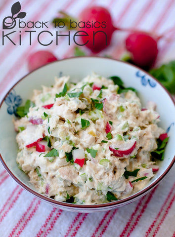 The Best Tuna Salad with Pickles and Dill