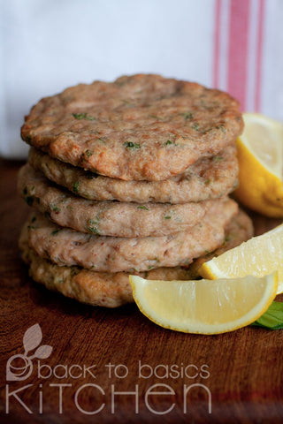Mustard and Rosemary Turkey Burgers