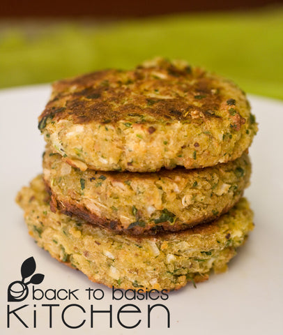 Our Favorite Chickpea Veggie Burgers