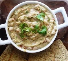 Caramelized Onion and White Bean Dip