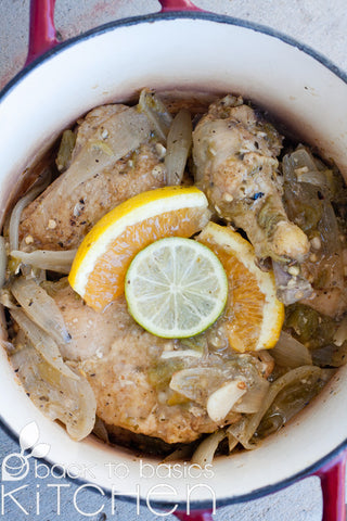 Yucatan Organic Chicken with Citrus & Chile