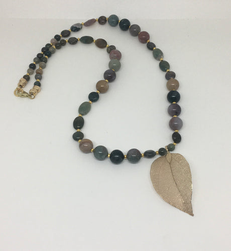 Jasper Jade Necklace