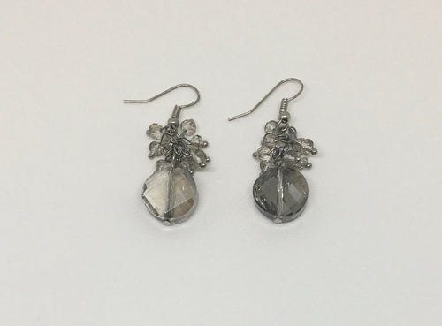 Sale! Light Grey Earring Set