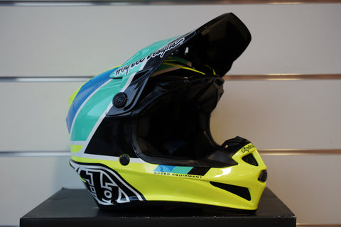 TROY LEE DESIGN SE4 - Poly Jaune Noir