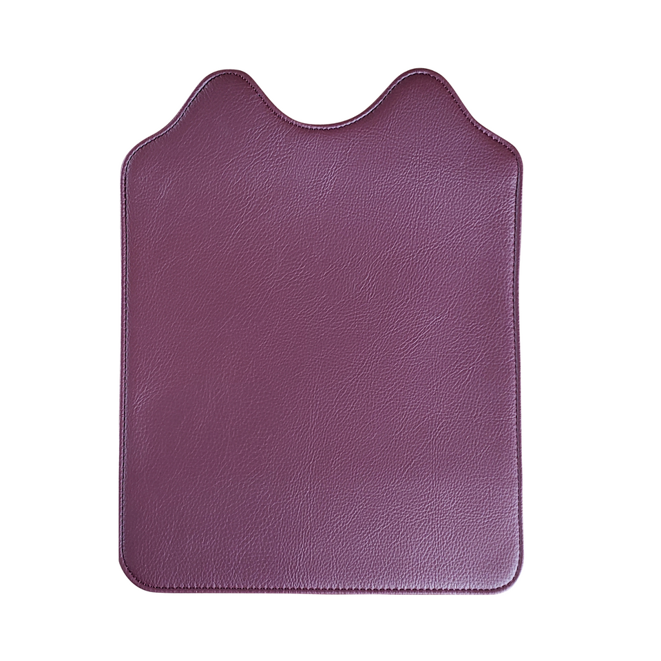 Dark red wine color flap for the Signature Evolution Smart Bag