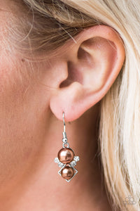 Mrs. Gatsby Brown Earring