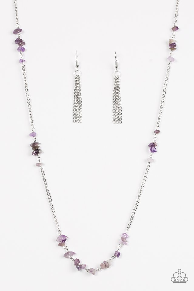 Canyon Catwalk Purple Necklace