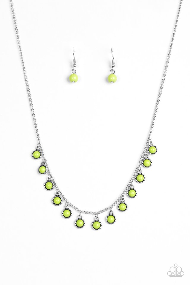 Gypsy Glow Green Necklace