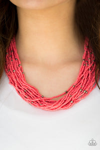 Summer Samba Orange Necklace