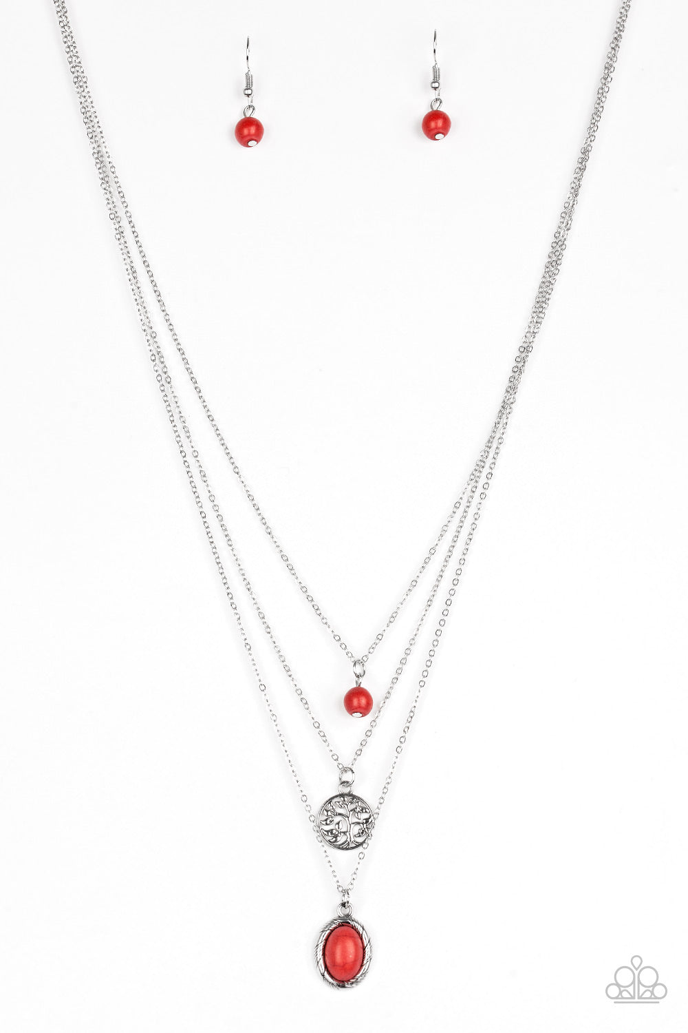 Southern Roots Red Necklace