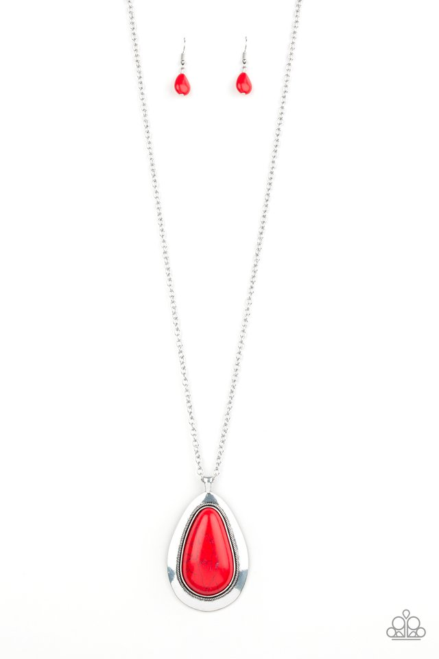 BADLAND To The Bone Red Necklace
