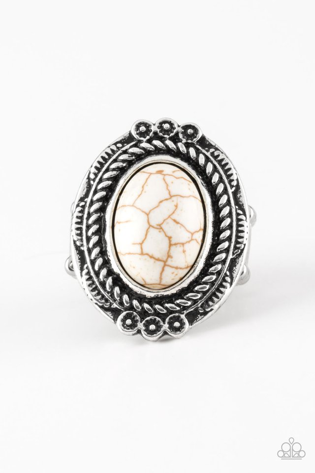Tumblin Tumbleweeds White Ring