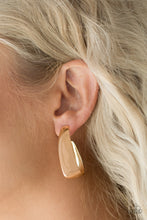 Load image into Gallery viewer, Gypsy Belle Hoop Gold Earring