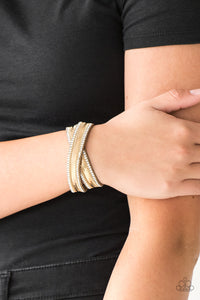 Rocker Rivalry Gold Bracelet