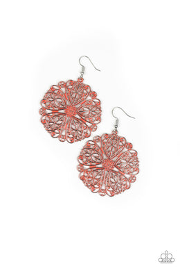 Ocean Paradise Orange Earring