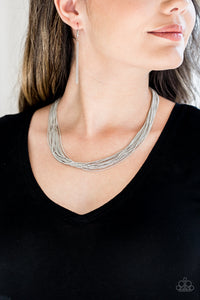 Backstage Bravado Silver Necklace