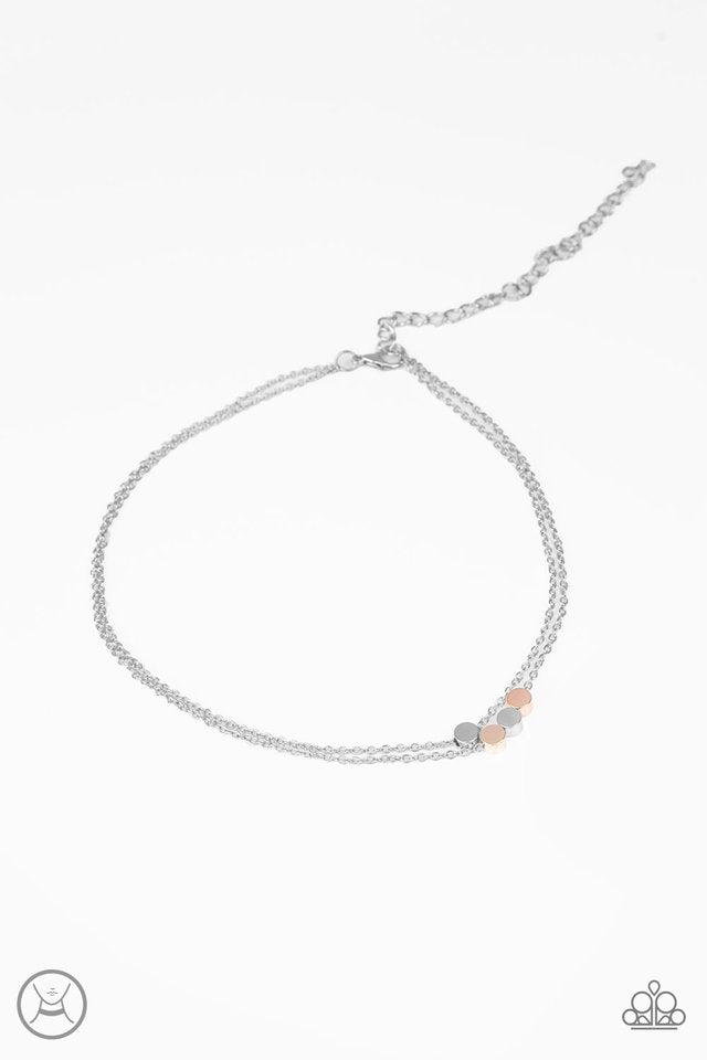Mini Minimalist Choker Silver Necklace