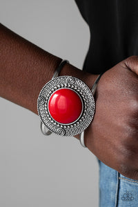 Tribal Pop Red Bracelet