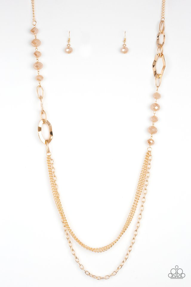 Modern Girl Glam Gold Necklace