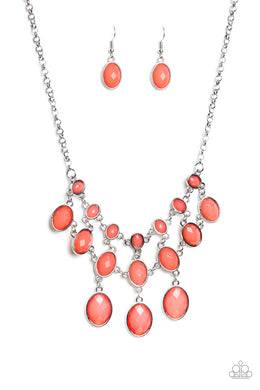 Mermaid Marmalade Orange Necklace