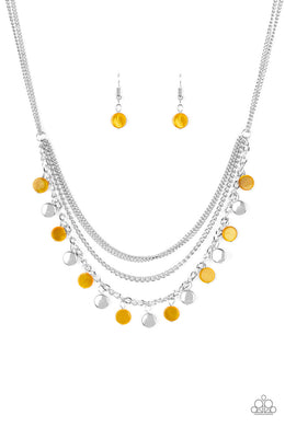 Beach Flavor Yellow Necklace