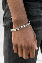 Load image into Gallery viewer, Take It To The Bank Silver Bracelet