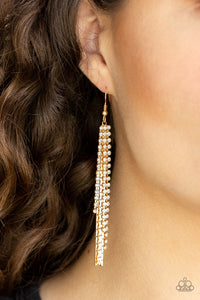 Red Carpet Bombshell Gold Earring