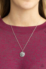 Load image into Gallery viewer, Sand Dollar Shores Silver Necklace