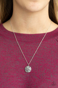 Sand Dollar Shores Silver Necklace