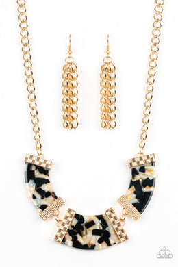 HAUTE-Blooded Black Necklace