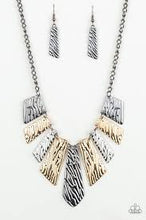 Load image into Gallery viewer, Texture Tigress Multi Necklace