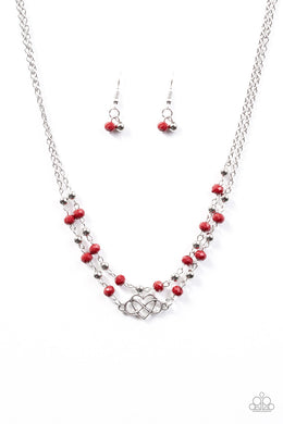 Unbreakable Love Red Necklace