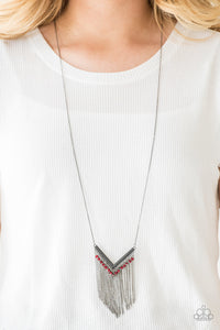 Fashion Peak Red Necklace