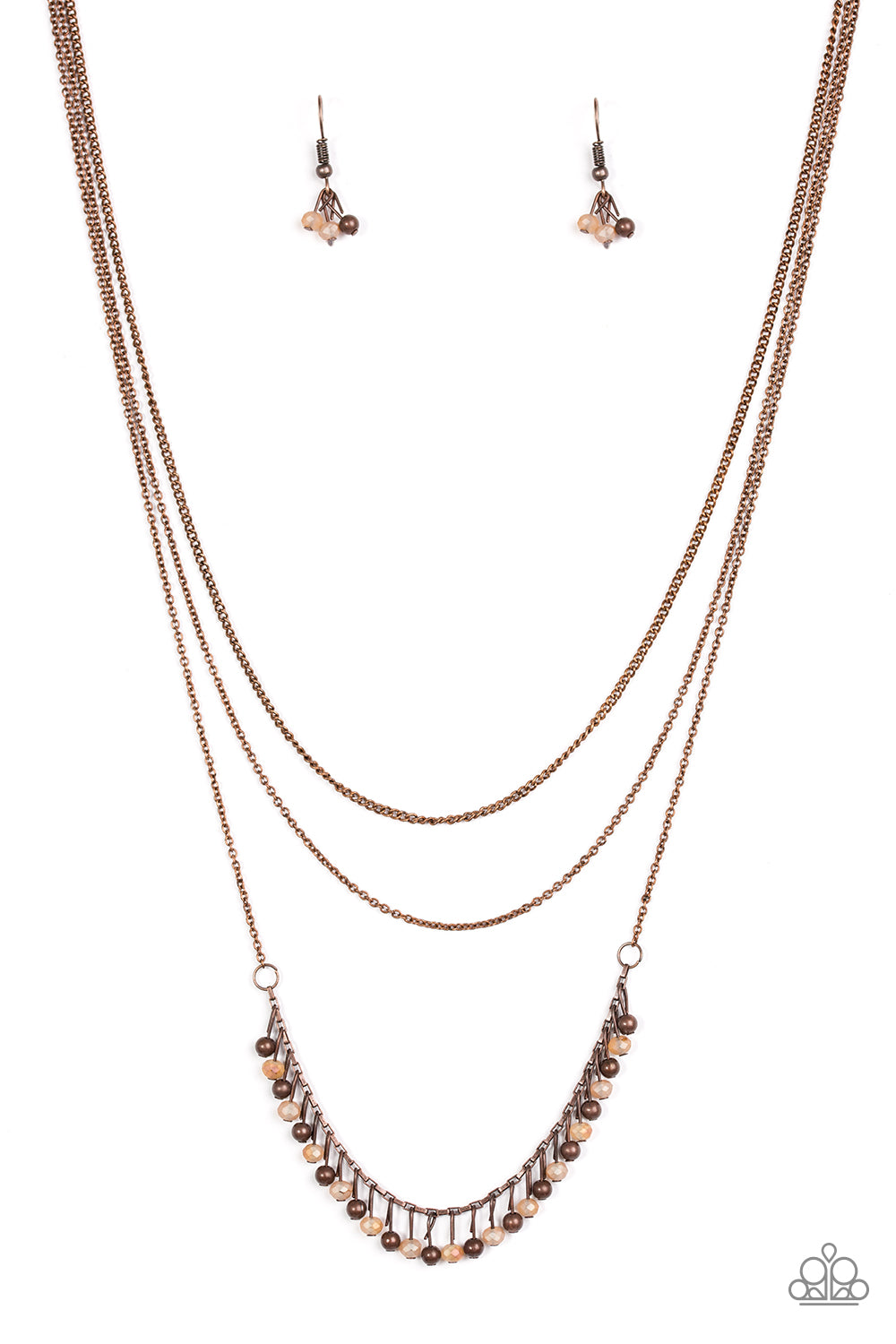 Twinkly Troves Copper Necklace
