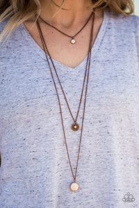 Mayan Dawn Copper Necklace