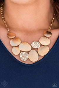 A Hard LUXE Story Gold Necklace