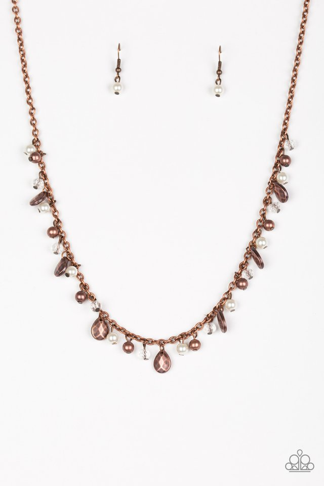 Spring Sophistication Copper Necklace