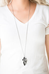 Fiercely Fall Black Necklace
