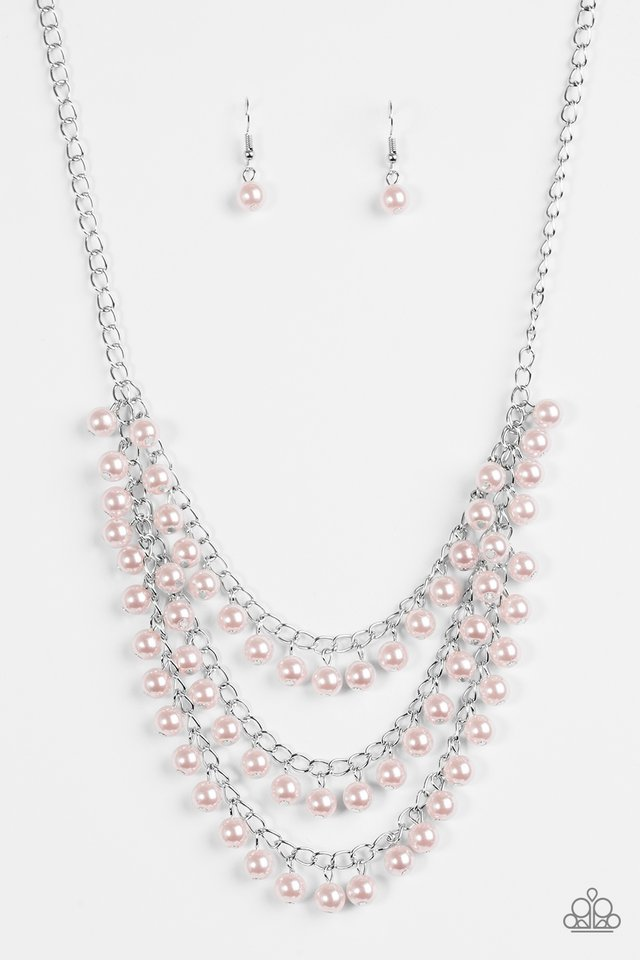 Chicly Classic Pink Necklace