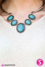 Load image into Gallery viewer, River Ride Blue Necklace