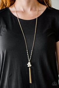 Uniquely Uptown Gold Necklace