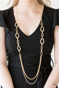 Street Beat Gold Necklace